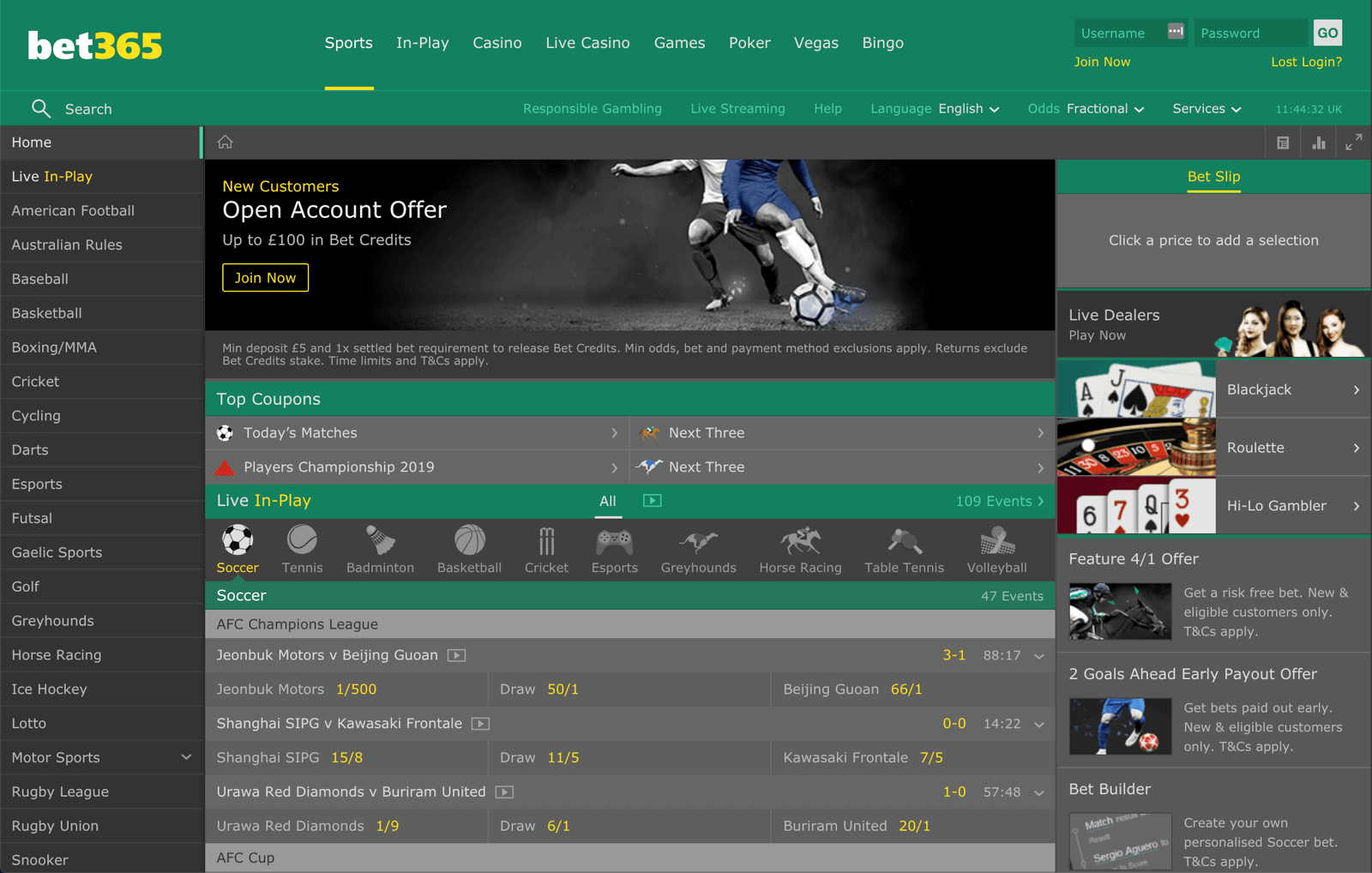 How to Bet on Bet365